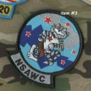 États-unis Marine Haut Pistolet École Nsawc Véritable Original F-14 Tomcat 6- ⭐