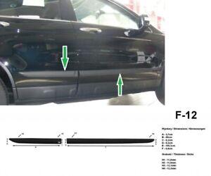 Bandes de protection de porte pour Honda CR-V III 2006 jusqu'au lifting 2009