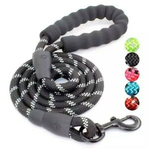 High Reflective Threads Durable Comfortable Dog Leash/Rope for Medium Large Dogs