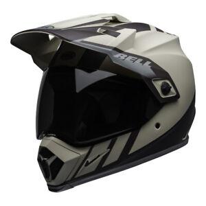 Bell MX 2020 MX-9 Adventure Mips Adult Helmet (Dash Sand/Brown/Grey)