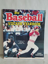 1986 Topps Major League Baseball Sticker Yearbook / PARTIALLY FILLED