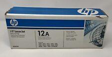 HP LaserJet 12A Toner Cartridge Q2612A Black - Genuine