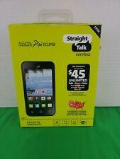 Straight Talk Alcatel OneTouch Pixi Eclipse Prepaid Smartphone 4GB, FOR PARTS