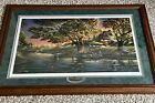 Close to Paradise Framed Limited Edition Print by Terry Redlin Fishing Cabin