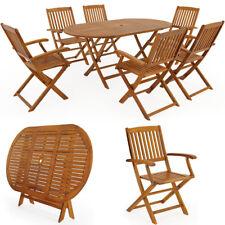 Sitzgruppe Holz Boston Sitzgarnitur Garten Garnitur Gartenmöbel Tisch Akazie Set