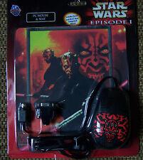 Star Wars Computermaus Darth Maul  mit Maus Pad