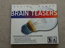 Brain Teasers 2008 On Hand PC Video Game