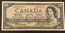 1954 - Twenty Dollar Canadian Banknote - 20$, Beattie/Coyne