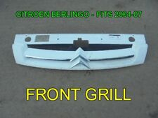 CITROEN BERLINGO FRONT GRILL - FITS 2004-07