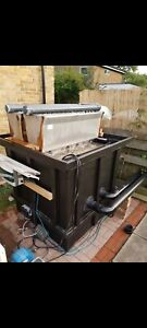 Koi Pond 400 Gallon K1 Chamber With Or Without Twin 4 ft Showers
