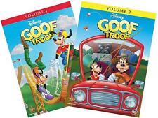 Disney's Goof Troop: Volume 1 & 2 Complete Series Collection(DVD, 4-Disc Set)NEW