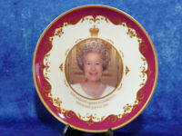 Smart QUEEN ELIZABETH II Diamond Jubilee 2012 Commemorative Plate Royal Crest