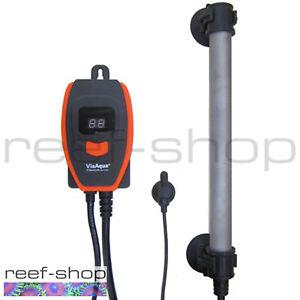 Via Aqua 200 Watt Titanium Aquarium Heater with Controller and Temperature Probe