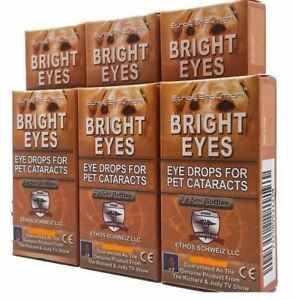 Ethos Cataract Eye Drops for Dogs Six Boxes 60ml Discount Pack with FREE POSTAGE