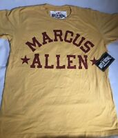USC California NCAA Marcus Allen #33 Roots of Football T-Shirt Men's Size Large