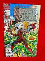 Silver Sable and the Wild Pack #1  1992 APPEARANCE OF AMAZING SPIDERMAN C8