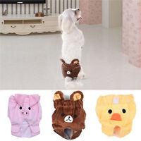 Female Cartoon Sanitary Pet Dog Underpants Diaper Nappy Underwear Pants S M L