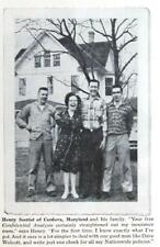 Original 1964 Insurance Ad Endorsed by Henry Secrist Family Cordova Maryland