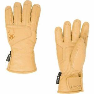 Spyder Mens Turret Gtx Glove   Natural Leather