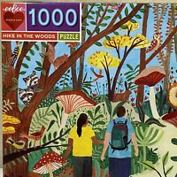 HIKE IN THE WOODS 1000 Piece Jigsaw Puzzle By Eeboo Women-Owned, Mother-Run NEW
