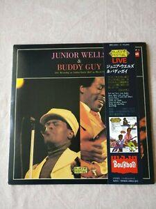 JUNIOR WELLS & BUDDY GUY Live Yubin-Chokin Hall JAPAN 1st Press Blues LP +OBI NM