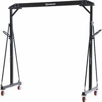 Strongway Adjustable Gantry Crane- 2000-Lb. Capacity