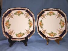 """Royal Victoria, Royal Semi Porcelain 9 3/4"""" Dinner Plates, Lot of Two"""