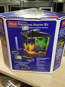 New Aqua Culture One Gallon Aquarium Starter