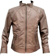 Women Leather Jacket Fashion Stylish Trendy Biker Classic Ladies Soft Jacket