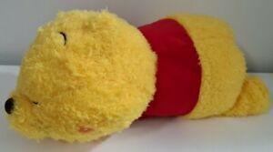 Super Soft Large Disney Sleeping Winnie The Pooh Plush 46cm Long SEGA