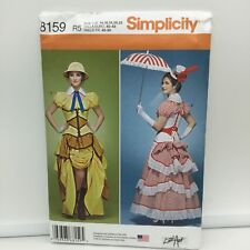 Victorian Steampunk Mary Jane Cosplay Costume Sewing Pattern 14 16 18 20 22