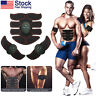 Ultimate Abdominal Muscle Simulator EMS Arms Toning Belt ABS Muscle Trainer Set