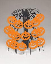 """Pumpkin Mini Cascade Centerpiece Halloween Decor 8.5"""""""