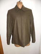 Evan Picone Size 4 Coat Jacket Zip Front Gray cinched waist