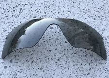 NEW SMOKE GREY REPLACEMENT OAKLEY RADAR RANGE LENS & CARRY POUCH