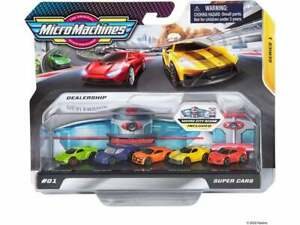 Micro Machines Super Cars Series 1