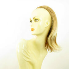 DT Half wig HairPiece extensions clear light copper blond blond 15.7  :18/27t613