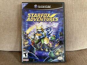 Starfox Adventures (Nintendo GameCube, 2002) Fully Complete With Rare Mem Card