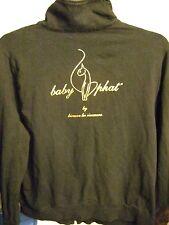 Baby Phat black long sleeve light zip front jacket, 3X