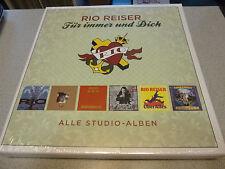 Rio Reiser - Für Immer Und Dich (Alle Studio-Alben) - 6 LP Vinyl BOXSET // Neu