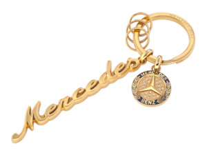 Mercedes-Benz Key Ring Women Classic Swarovski Crystals B66041518 Genuine New
