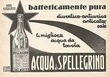 Z0338 Acqua di San Pellegrino - Pubblicità del 1931 - Advertising