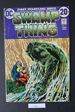 SWAMP THING #1 ORIGIN 1st Dr Alec Holland 1972 WRIGHTSON JLD New TV Show VG 4.0