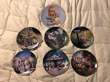 7 Zolan Enesco Collector Plates Lot Rick Olson Sarah Mj Hummel Apple Treey Dish