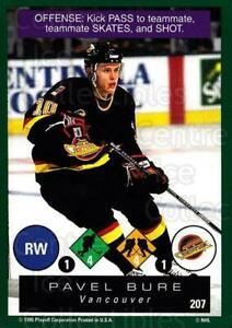 1995-96 Playoff One on One #207 Pavel Bure