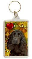 Cocker Spaniel Keyring Dog Key Ring Birthday Gift Xmas Gift Stocking Filler