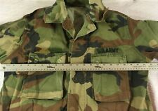 COLD WEATHER STARCHED WOODLAND BDU MEDIUM-XLONG JACKET TOP AIRSOFT COAT