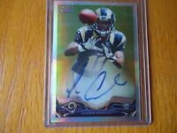2013 TOPPS CHROME ROOKIE REFRACTOR TAVON AUSTIN RAMS 45/150 MINT CONDITION RARE