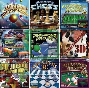 Gameroom Software Games Assortment PC Windows XP Vista 7 8 10 Sealed New