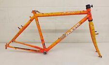 """Vintage 1993 Mt. Shasta Tempest 18"""" (C-T) Tange Prestige CrMo Mtn Bike Frame"""